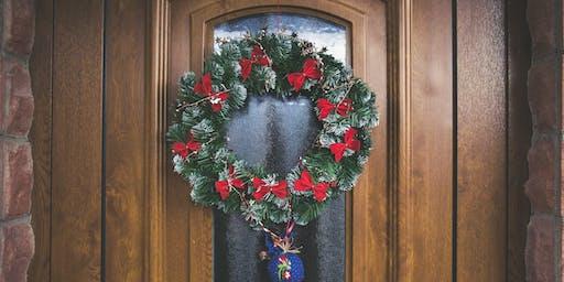 (Friday) Wreath Decorating Event w/ Crafts & Cocktails Ladies Club!