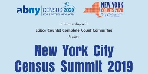 New York City Census Summit 2019