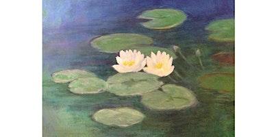 Paint it like Monet - Water Lilies