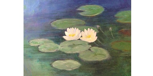 Paint it like Monet - Water Lilies