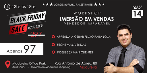 Black Friday - Workshop de Vendas