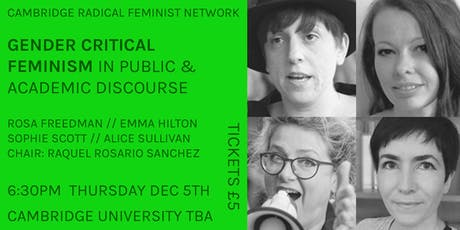 Panel Event: Gender Critical Feminism in Public & Academic Discourse tickets