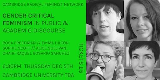 Panel Event: Gender Critical Feminism in Public & Academic Discourse