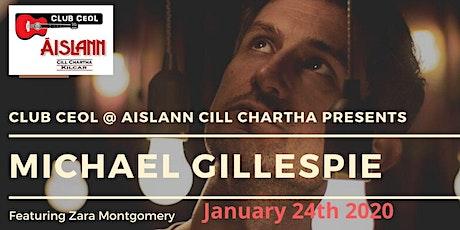 MICHAEL GILLESPIE tickets
