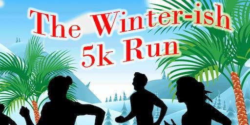 The Winter-ish 5k at Blanchard Park