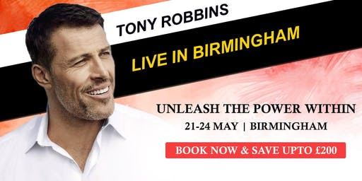 Tony Robbins Unleash the Power Within - Birmingham 2020