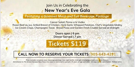 Grand Olympia New Year's Eve Gala tickets