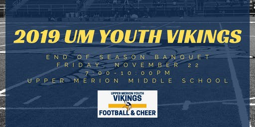 2019 UM Youth Vikings Banquet