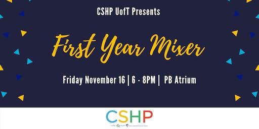 CSHP First Year Mixer