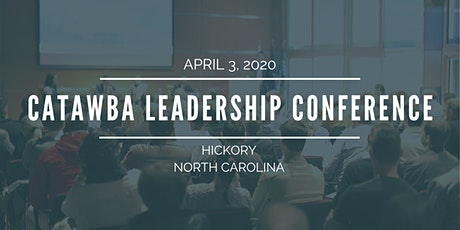 The 2020 Catawba Leadership Conference tickets