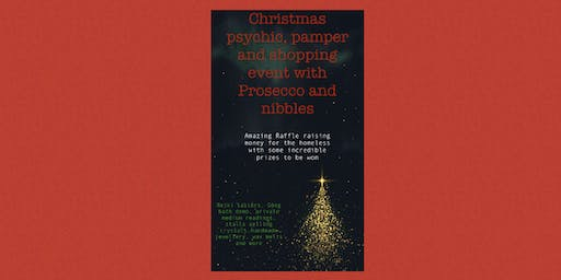 Christmas psychic,pamper and shopping event with Prosecco and nibbles