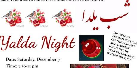 Shab-e-Yalda (Yalda Night) at Brown tickets