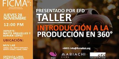Taller introducción a la producción en 360°