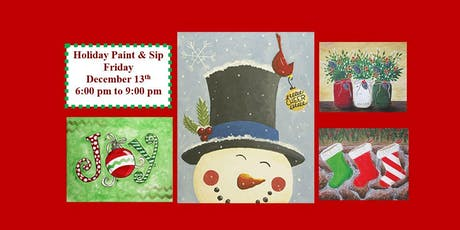 Holiday Paint and Sip! tickets