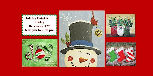Holiday Paint and Sip!