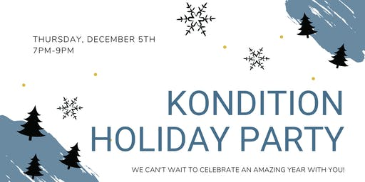 Kondition Holiday Party