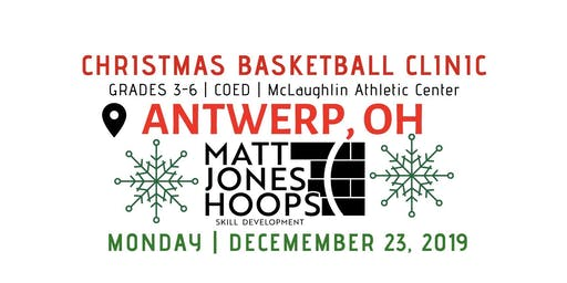 Christmas Basketball Clinic | 3rd & 4th Grade | Matt Jones Hoops