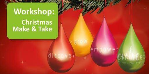 Christmas Make & Take Workshop