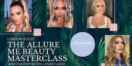 London Celebrity Makeup Masterclass - Stacey Lacey x Georgina Partington tickets