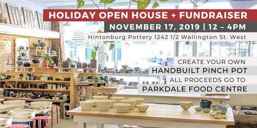 Pottery For Parkdale: Open House & Community Fundraiser