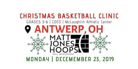 Christmas Basketball Clinic | 5th & 6th Grade | Matt Jones Hoops tickets