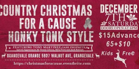 Country Christmas For A Cause tickets