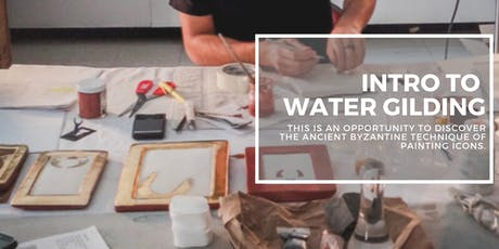 Water Gilding Gold Leaf Demonstration with Adrian Gor tickets