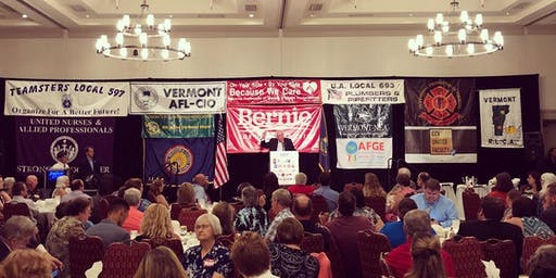 NH Labor Solidarity Dinner and Dance with Senator Bernie Sanders