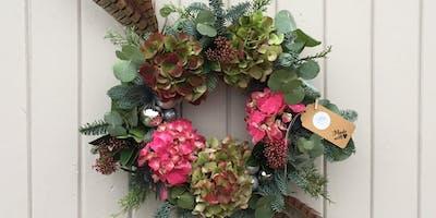 Festive Wreath Workshop