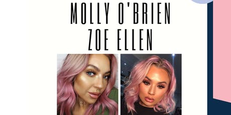 Manchester Makeup Masterclass- Molly O'brien x Zoe Ellen x Allure Me Beauty tickets