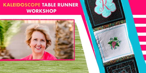 Kaleidoscope Table Runner Workshop