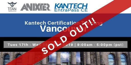 Vancouver Kantech CE Certification - Anixter