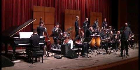 CCM Jazz Lab Band plays Christmas Jazz songs!