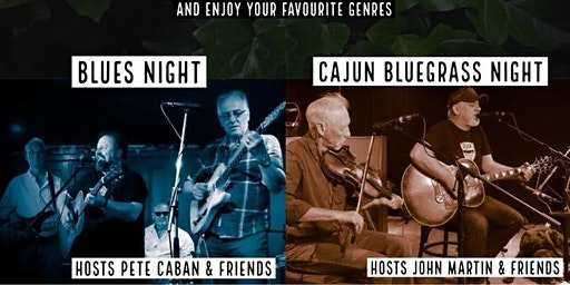 Country / Cajun / Bluegrass night with John Martin