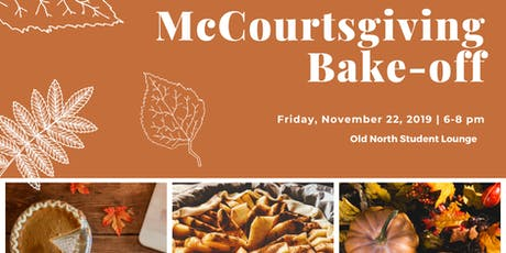 McCourtsgiving Bake-off tickets