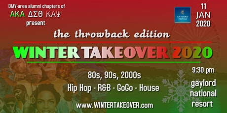 Winter Takeover 2020 | The Throwback Edition tickets