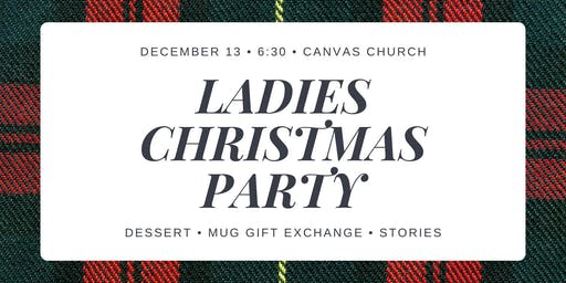 Ladies Christmas Party!