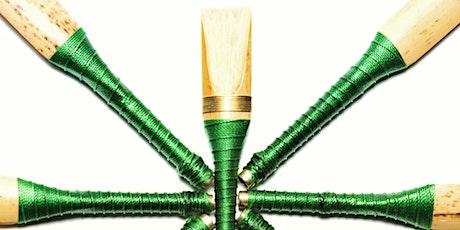 Taller de reeds de uilleann pipe con Cesar Pastor  entradas