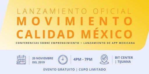 Conferencias sobre emprendimiento + Lanzamiento App Mexicana
