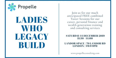 Ladies Who Legacy Build Taster Session tickets