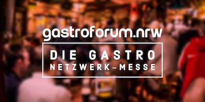 Voranmeldung gastroforum.nrw - Das Gastronomie Netzwerk-Event für NRW