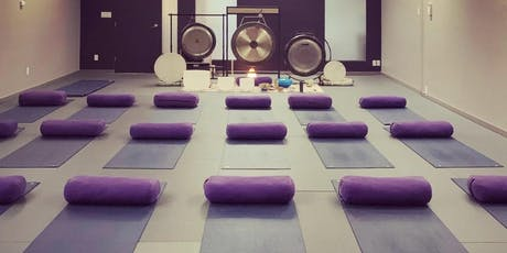 Sound Bath Sanctuary in North Vancouver @ Rasa Flow Yoga  tickets