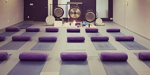 Sound Bath Sanctuary in North Vancouver @ Rasa Flow Yoga