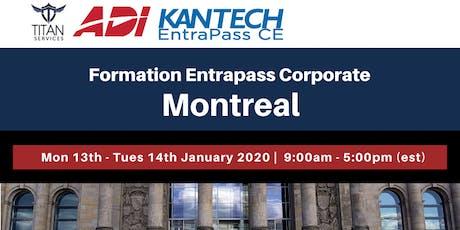 Formation Entrapass Corporate à Montréal - ADI billets