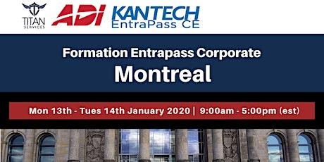 Formation Entrapass Corporate à Montréal - ADI tickets