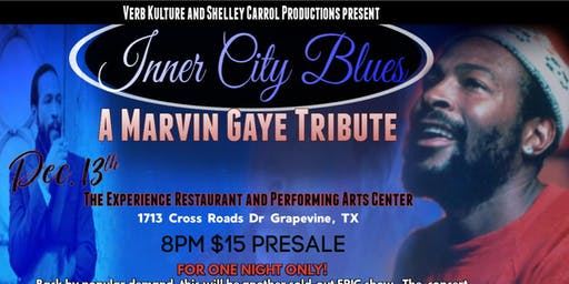 A Marvin Gaye Tribute Concert (ONE NIGHT ONLY)