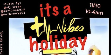 It's Positive Vibes Holiday tickets