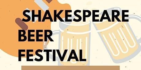 Shakespear Beer Festival tickets