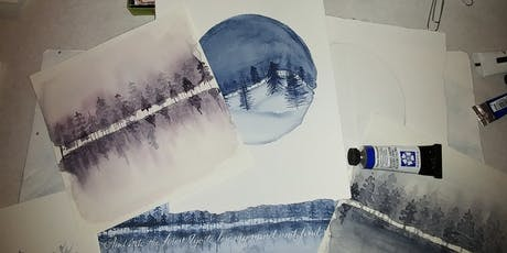 Learn to Watercolor--Holiday Themed tickets