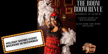 The Boom Boom Revue Saturday Late Night Burlesque Show tickets